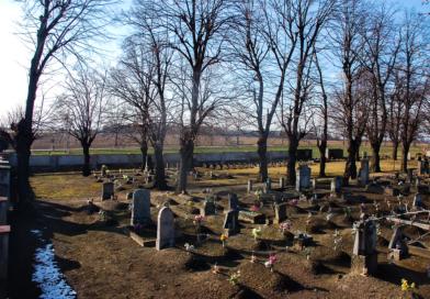 """""""Dobry duch"""" cmentarza w Nowicach"""